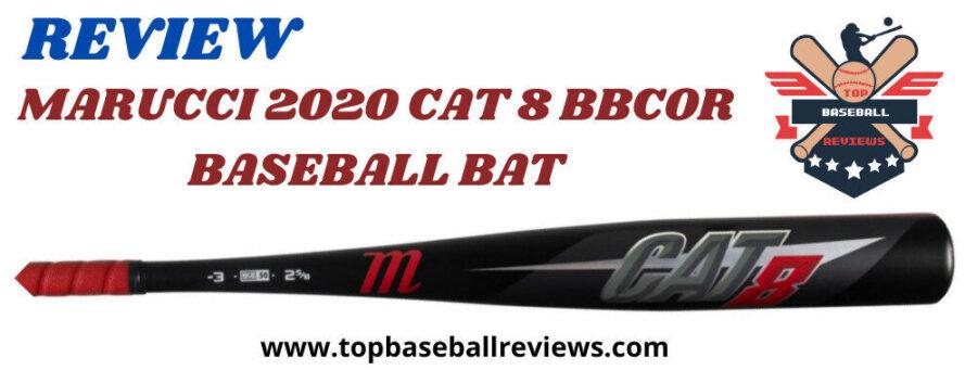 MARUCCI 2020 CAT 8 BBCOR Black BASEBALL BAT